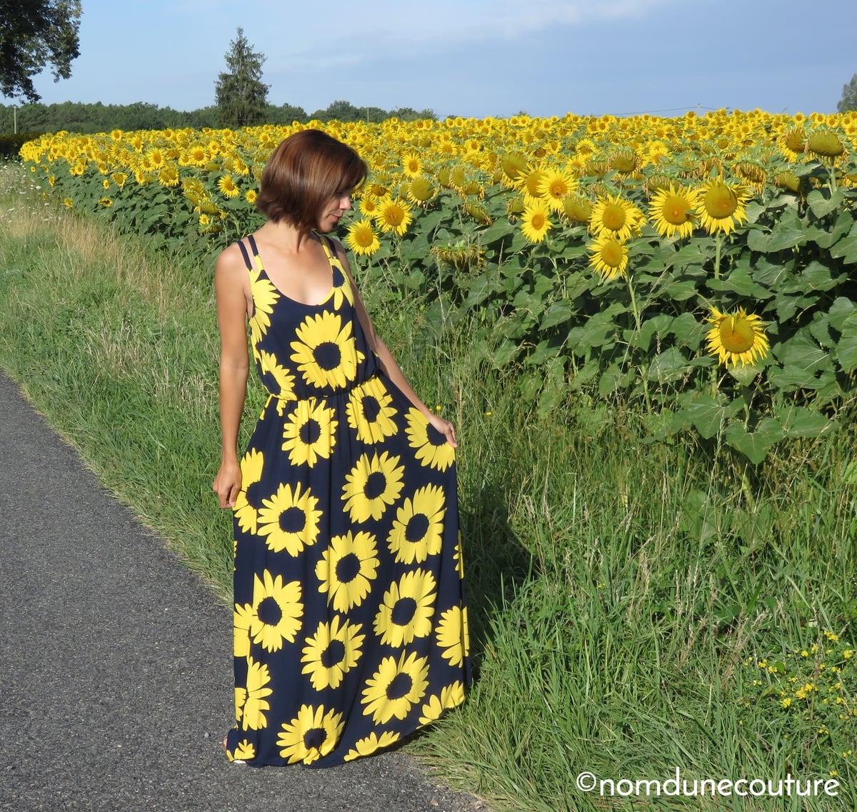 Se coudre une robe longue pour l'été
