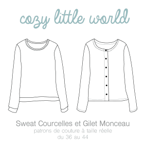 sweat courcelles cozy little world