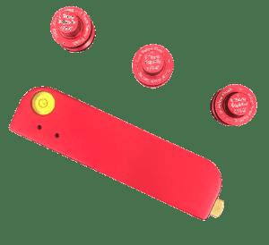 Laserlinjauslaite