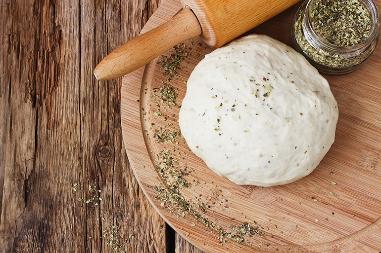 Making the Pizza Dough & Storing the Dough