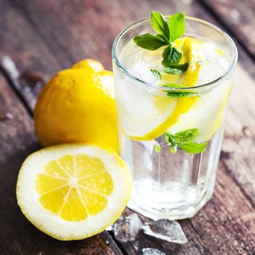 2.Lemon Water