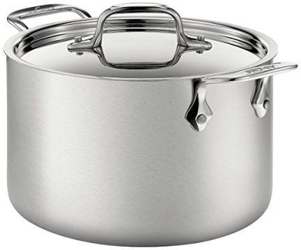 All-Clad BD552043 D5 Brushed 18/10 Stainless Steel