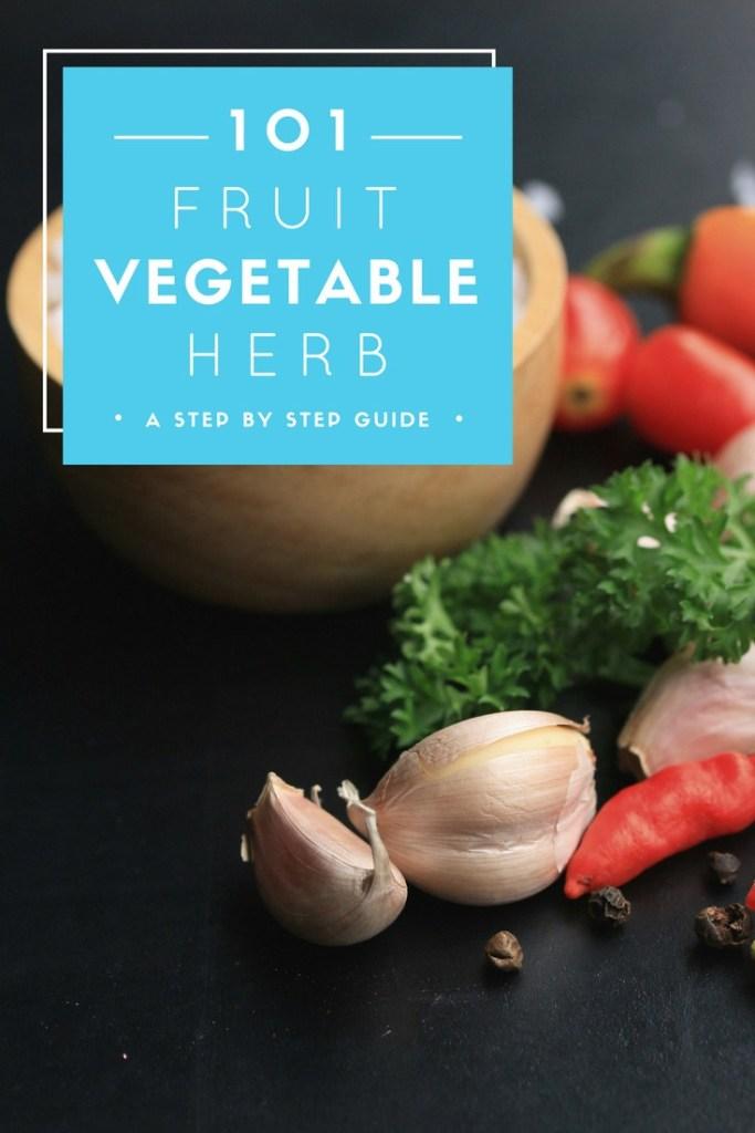 Fruit-Vegetable-Herb