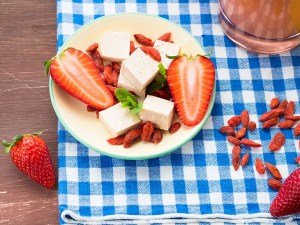Tofu-Strawberry-Smoothie