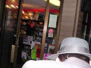 A Gramercy Riff gangmember ducks a shot.