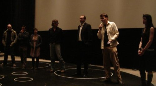 The post-movie q&a with the directors.