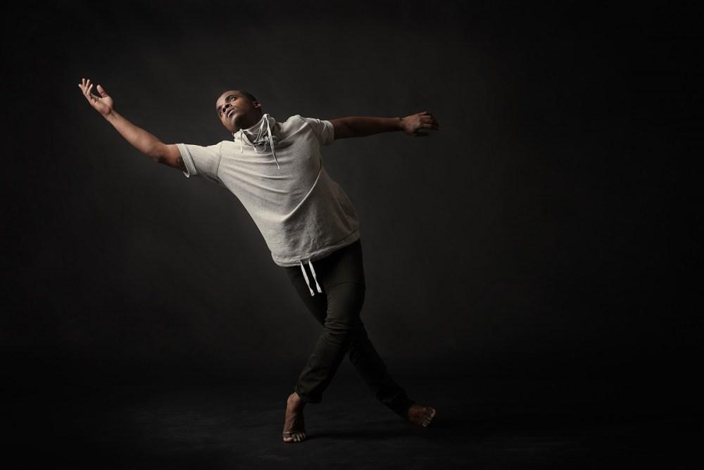 Maleek Washington Dance Studio Photoshoot