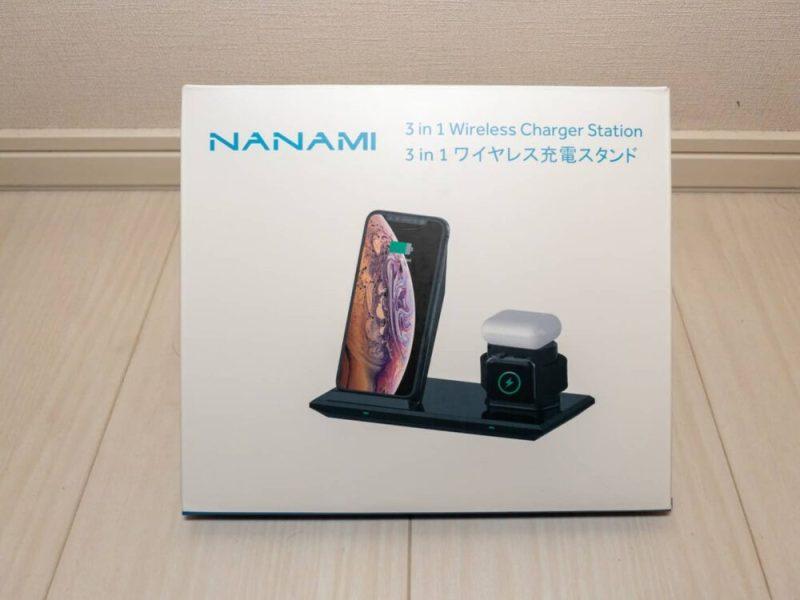 NANAMI ワイヤレス充電器 3in1