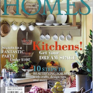 Featured At Romantic Homes Magazine