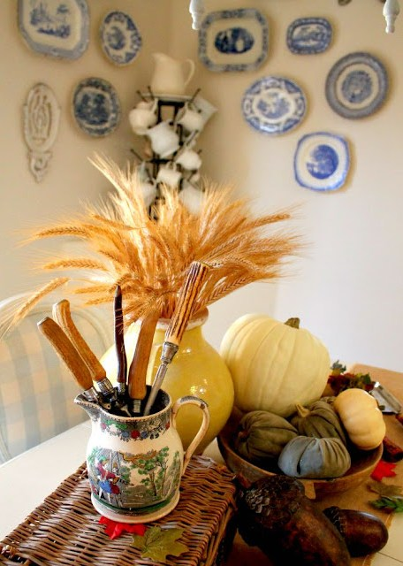 Fall decorating, Fall tour of homes