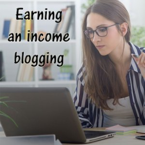 Earning an Income Blogging