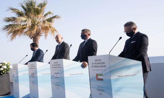Η περιφερειακή συνεργασία μεταξύ Κύπρου, Ελλάδας, Ισραήλ και Ηνωμένων Αραβικών Εμιράτων επεκτείνεται