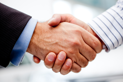 What Not To Do In An Interview--don't crush the interviewer's hand.