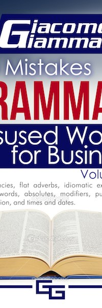 Misused Words for Business, when to use of