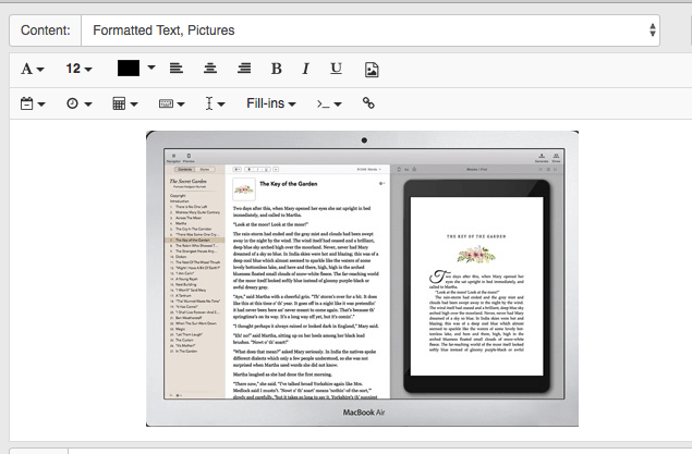 vellum screenthost in Text Expander™ Using Images
