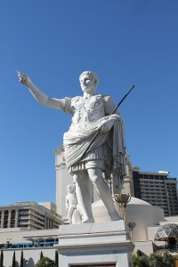 Julius Caesar statue, how other languages affect ours