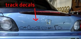 Race-Track-Decals-On-Honda-S2000