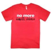 no-more-domestic-violence-red-tshirt