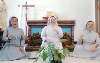 Merdu, Aksi Tiga Biarawati Nyanyi Selamat Lebaran Viral