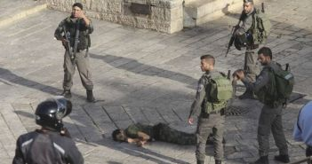 Polisi Israel menembak seorang warga Palestina. (Int)