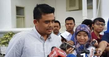 Menantu Presiden Joko Widodo, Bobby Nasution. (IN)