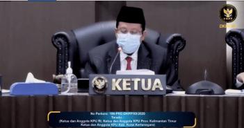 Tak Jalankan Rekomendasi Bawaslu, Ketua KPU Kukar Dicopot