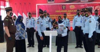 Lapas Balikpapan Komitmen Antikorupsi