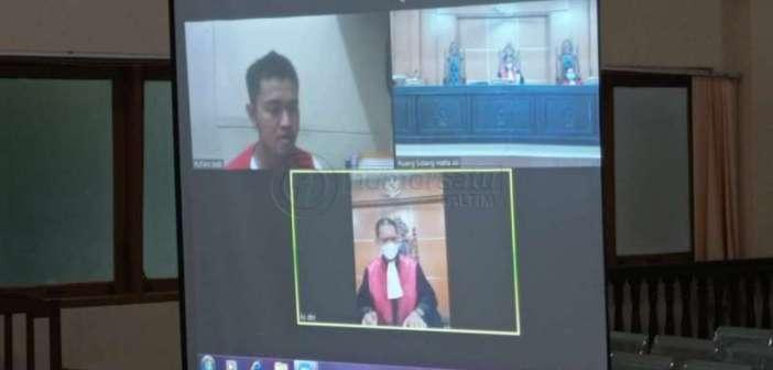 Uang Hasil Jual Mobil Dipakai Judi dan Bigo Live, Mantan Sopir Istri Kapolres Samarinda Divonis 2,5 Tahun Bui