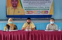 Komisi IV DPRD Kaltim Sosialisasi Perda, Salehuddin: Optimalkan Pajak Daerah