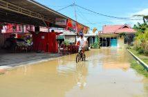 Air Sungai Meluap, 5 Wilayah di Bontang Terendam Banjir