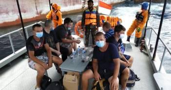 Basarnas Kaltim Kembali Evakuasi 14 Korban Laka Air ke Pelabuhan Semayang
