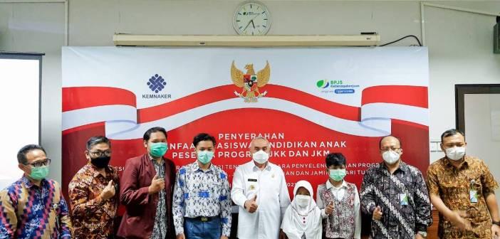 BPJAMSOSTEK Kanwil Kalimantan Salurkan Rp 1,5 Miliar