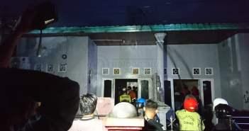 Kebakaran di Samarinda Seberang, 1 Rumah Milik Kakak Beradik Hangus