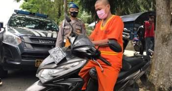 Tak Jera Masuk Penjara, Residivis Balikpapan Ini Curi Motor Warga