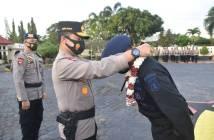 2 Bulan Bertugas di Papua, 100 Personel Brimob Polda Kaltim Pulang