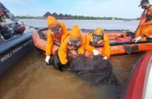 Warga Palaran Ditemukan Mengambang di Sungai Mahakam