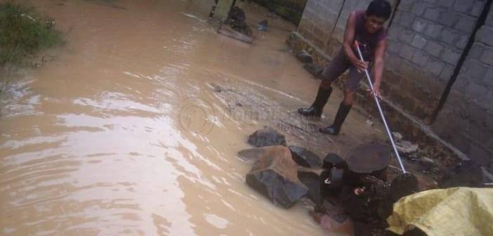 Sungai Kecil Meluap, Kampung Muara Asa Banjir