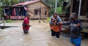 Sungai Lawe-Lawe Meluap, Warga PPU Kebanjiran