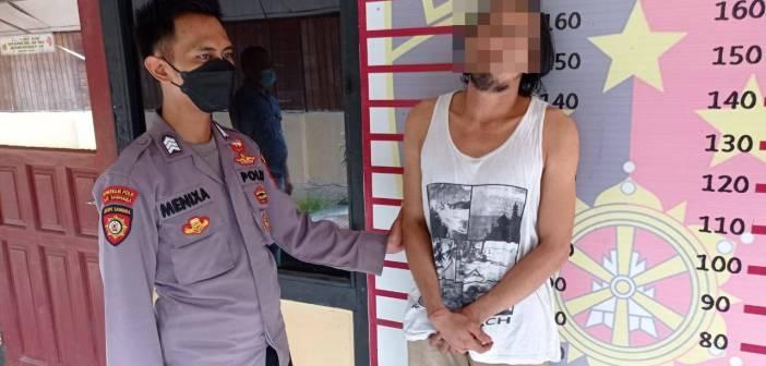 Pencuri Kotak Infak Masjid di Jalan Pelita Samarinda Babak Belur