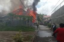 Gara-Gara Lupa Matikan Kompor, Rumah Lansia Ludes Terbakar