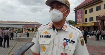 Larang Kegiatan Open House, 200 Personel Satpol PP Samarinda Siaga
