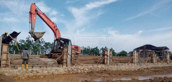 Tak Kunjung Rampung, Kontrak Pembangunan Rumjab Bupati PPU Maksimal 28 Mei