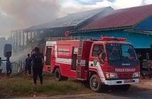 Kebakaran di Melak, Dapur Rumah Warga Dilalap Api di Siang Bolong