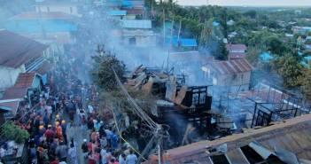 Berita Sepekan, Pembunuhan di Kutim, Kebakaran, hingga Politik Kaltim yang Menghangat Delapan Rumah Hangus di Kebakaran Gunung Bugis, Tak Ada Korban Jiwa
