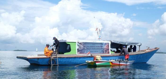 Pupuk Kaltim Bekali Nelayan Kemampuan Transplantasi Terumbu