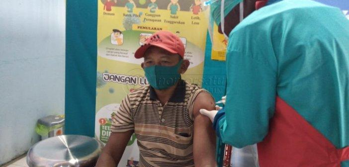 Kejar Target Vaksinasi COVID-19 di Kecamatan Penajam
