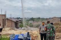 Gas Menyembur saat Mengebor Tanah di Sepinggan, Bhabinkamtibmas: Tak Berbahaya