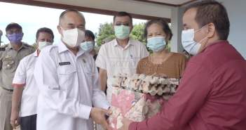 Kendalikan Inflasi Daerah, Pemkab Kubar Buka Pasar Murah di Barong Tongkok
