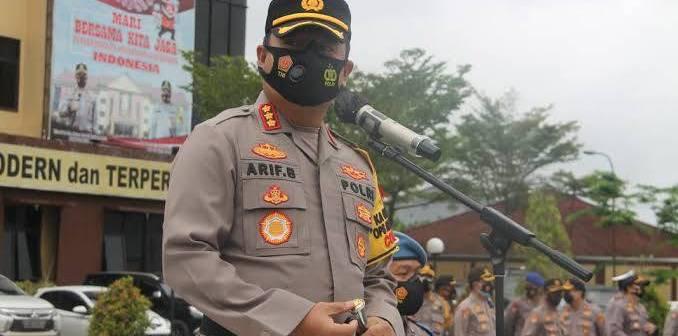 Kapolresta Samarinda Tambah Personel Jaga di Posko Penyekatan