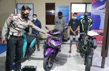 Aksi Balap Liar di Balikpapan, 'Finis' di Kantor Polisi